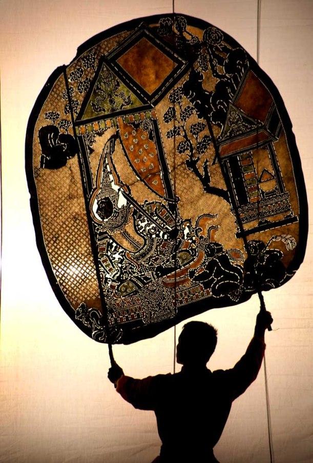 Thai Shadow Puppets by Steve Evans, http://babasteve.blogspot.com/