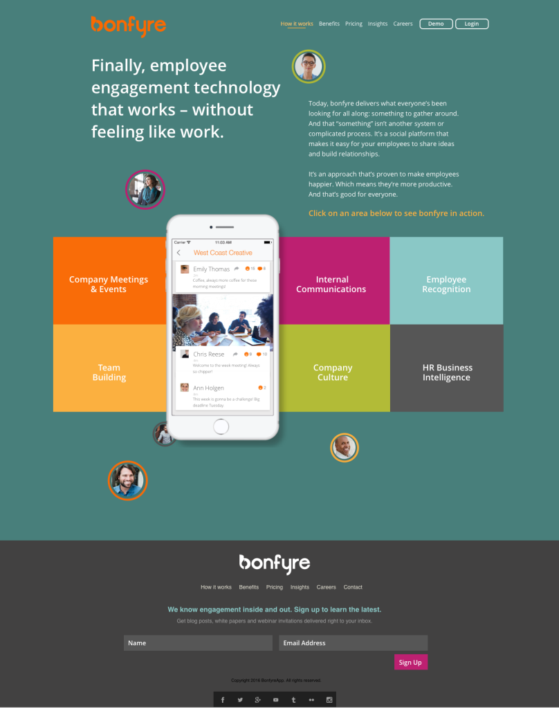 Bonfyre App_How It Works Hub